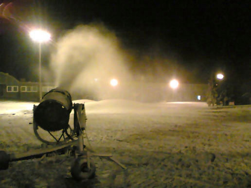 More Snow Making