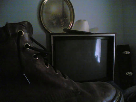 Shoe, TV, Hat