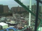 From the top of the wonder wheel.