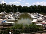 Summit North Marina - beautiful day for a ride!