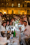 White Dinner 2013, at Le Louvre