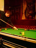 Playing Pool in The Victory
