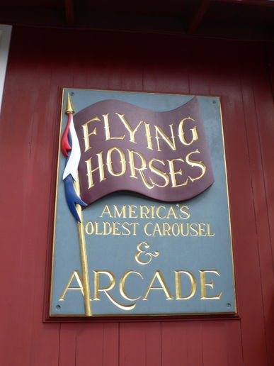 At the Flying Horses