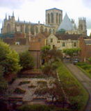 A view of York minster.