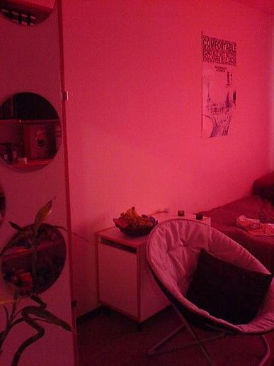 My room is PINK!