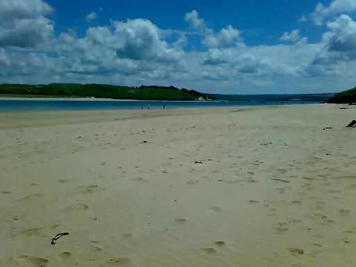 Padstow beach on a Friday morning