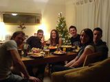 Aww a pic of the gang at xmas