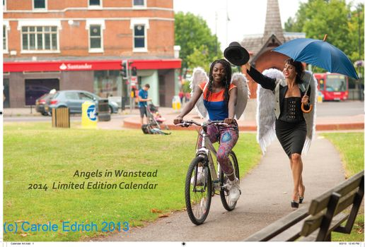 Calendar in aid of Cyclists Fighting Cancer