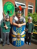 A Roman visitor to Years 3 and 4