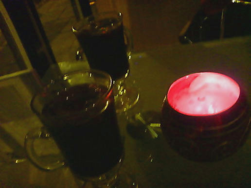 Mulled wine in LS7.