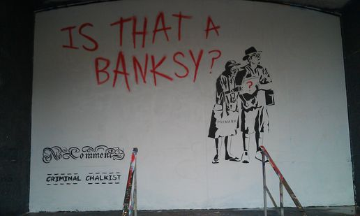 Is that a Banksy?