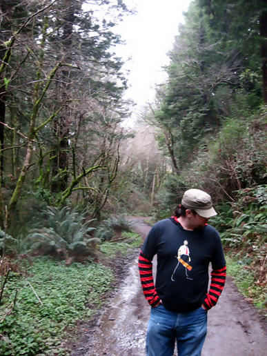 Clark in the Forests of Humboldt CSU