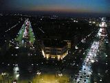 Views from the top of the Arc de Triomphe