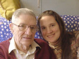 Christmas visit w/ my 93 yr old Grampa