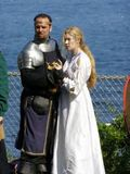 King Arthur and Nimue