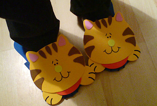 Miaow...more slippers!