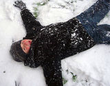 He's sNOw angel!!!