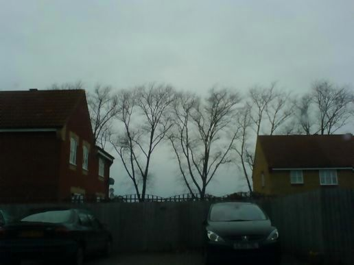Cold, grey and windy