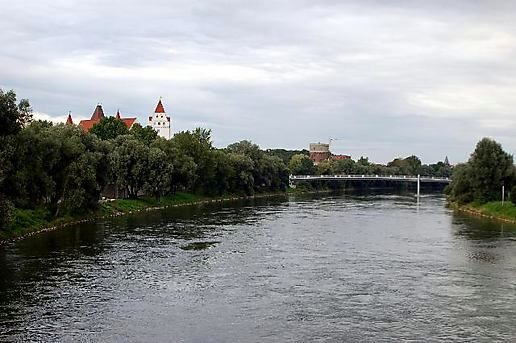 The Danube at Ingolstadt