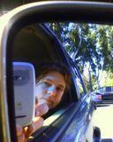 That's me in the rearview