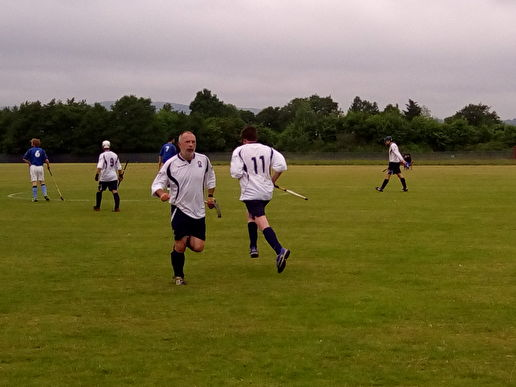 Shinty at Peterson Park, Knightswood