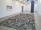bits of Bluevale's concrete, laid out by Michael Wilkinson, good stylee ...