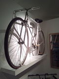 Harold Eddy's aluminium bicycle