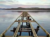 Jetty planks gone at DuckBay