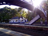 rail station, Pitlochry