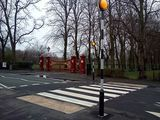 Victoria Park Drive North, new belisha beacons !