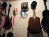 Accessorising my guitar wall
