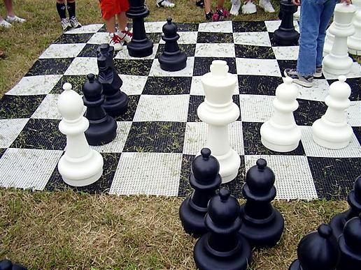 Anyone for chess?!