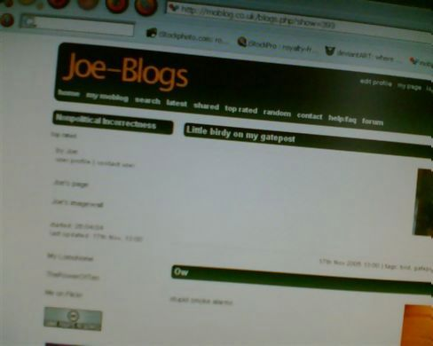 Joe blogged it for me!