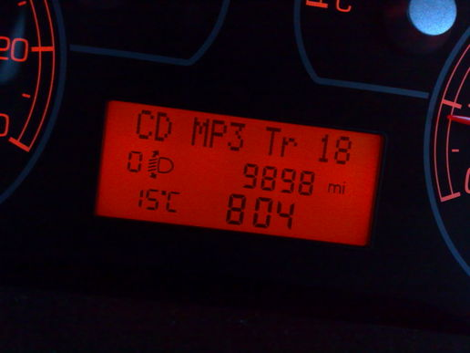 look at the mileage! :(