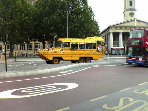 Floating bus?