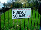 On waking last Thursday I found that my little Square of Leeds had mysteriously been transported to Highbury