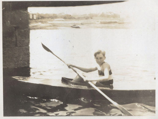 K is for Kayak: 1920s