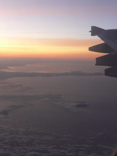 Anglesey and the Lleyn Peninsula, sunrise