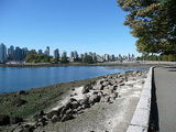 Downtown Vancouver from the sea wall, Stanley Park