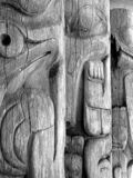 Totems, Museum of Anthropology, Vancouver