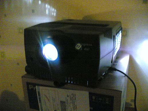 Projector Power!