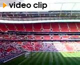 New Wembley: The national anthem...