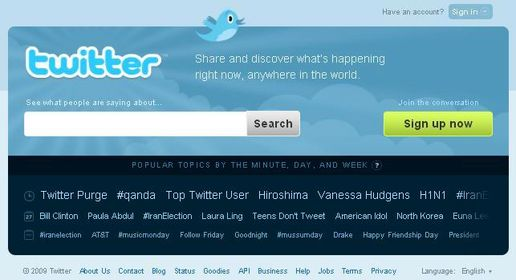 WOW, Twitter becomes a search engine