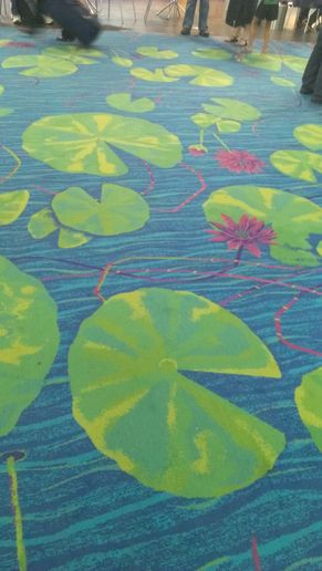 Airport carpets