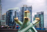 Today in Vancouver: The Olympic Torch Relit!
