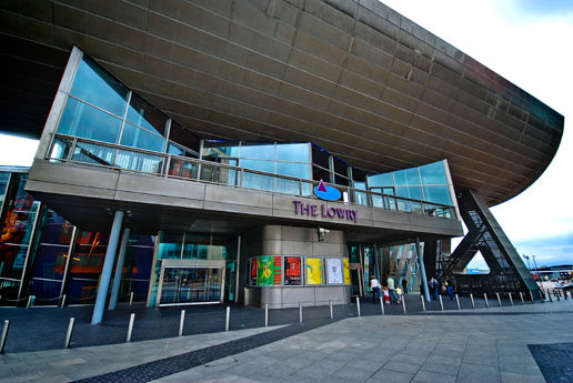 """The Lowry"", Salford Quays, Manchester"