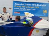 Mark Burdett Motorsport supporting Jeans for Genes at Brands Hatch