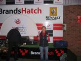 Tiff Chittenden - Debut race at Brands Hatch
