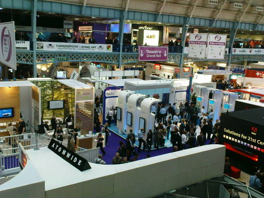 BETT in full swing.