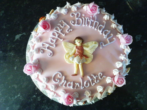 Charlotte is 6 and here is her #cake